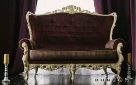 Царский диван 2х м Royal