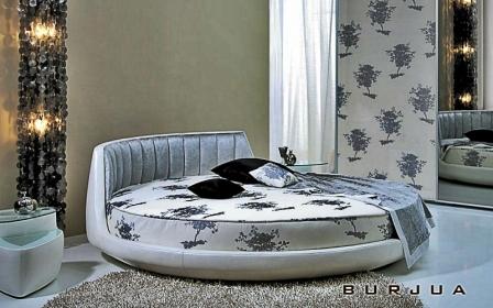 кровать Вулькано Vulcano круглая