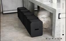 ipaper скамейка 6 местная black
