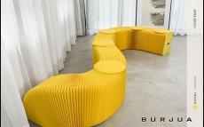 ipaper скамейка 9 местная yellow